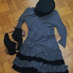 Bebe Ruffle Dress